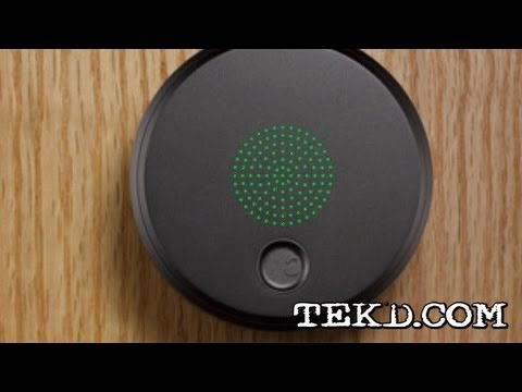 Tekd Keyless Entry And Control With The August Smart Lock