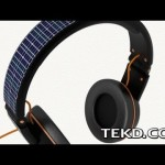 OnBeat Solar Headphones for Mobile Tunes and Power