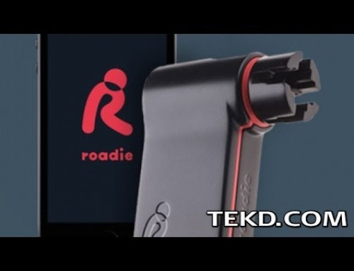 Roadie Tuner Makes Tuning a Guitar Quick and Easy