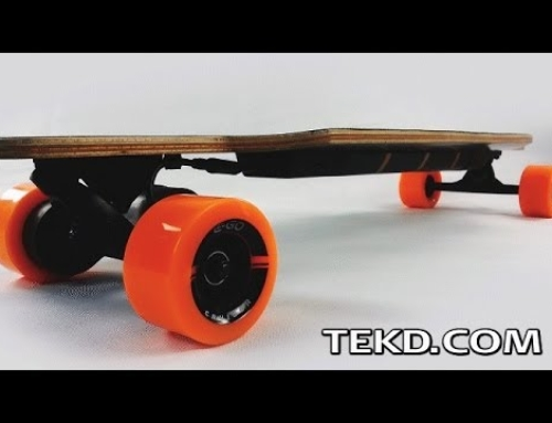 Motorized Coasting on an E-Go Cruiser Electric Longboard