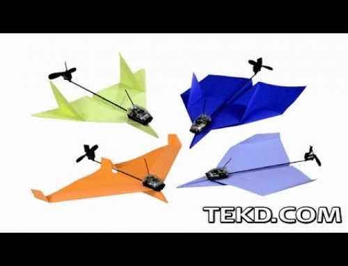 PowerUp Transforms Paper Airplanes with Flight Control