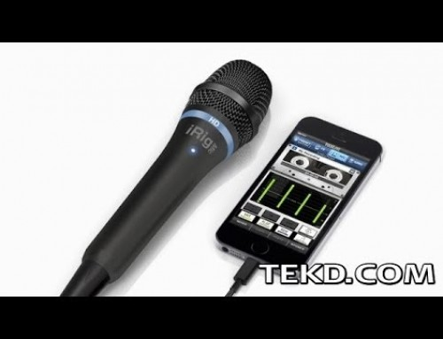 iRig Mic HD Turns iOS Devices into Recording Studios