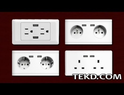 Replace Old Outlets with WallCharger and Power Everything