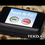Touch-N-Fill Automates Coffee Machine Water Fills