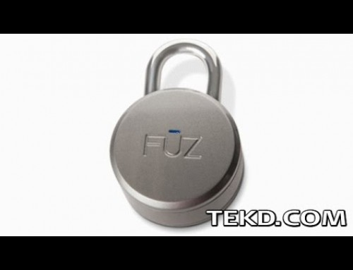 The Noke Padlock Secures Your Stuff with a Smart Key