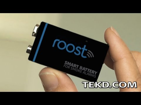 Retrofit Old Smoke Alarms with a Roost Smart Battery