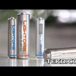 Lightors Batteries Recharge Through Built-In Micro USB