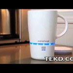 No More Cold Coffee with the Nano Heated Wireless Mug