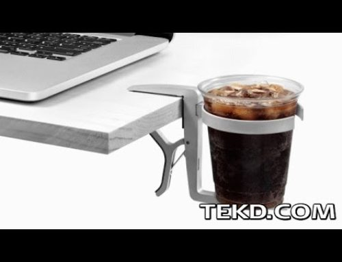Attach Vector Cup Holder and Save In-Flight Laptops